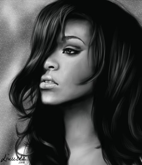Rihanna by Linuska